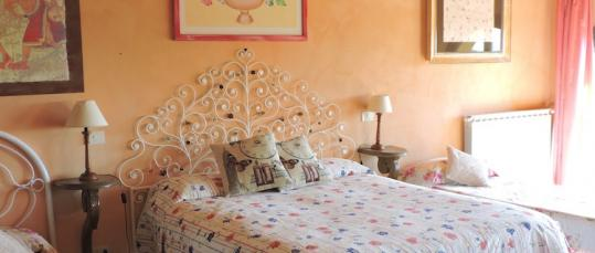 LettI camera Etrusca Casale Fedele Bed and Breakfast