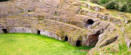 Etruscan amphiteatre | Sutri